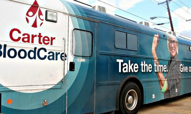 Give blood, give back    Carter BloodCare bus in Greenville today