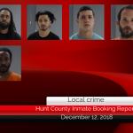 Hunt County inmate booking report    December 13, 2018