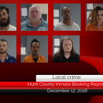 Hunt County inmate booking report || December 12, 2018