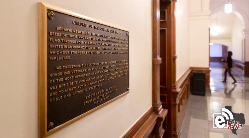 Abbott-led board to consider removal of Confederate plaque from inside Texas Capitol