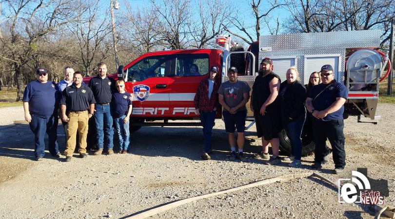 Merit Volunteer Fire Department gets new truck    Attack 51