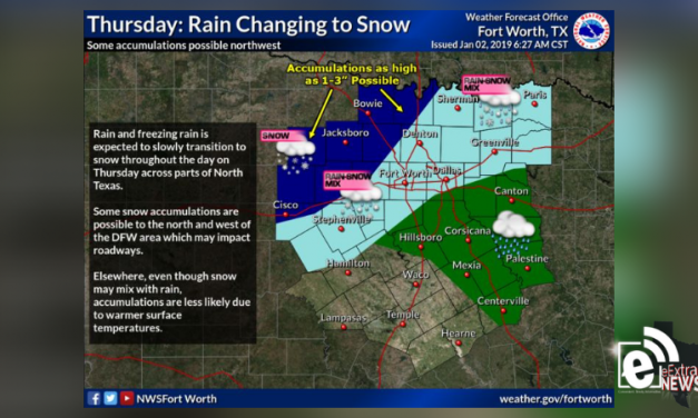 Rain-snow mix possible for Thursday