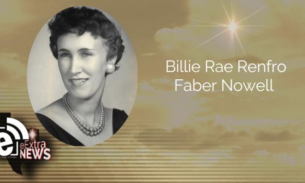 Billie Rae Renfro Faber Nowell     Obituary