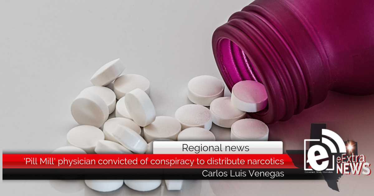 'Pill Mill' physician convicted of conspiracy to distribute narcotics || Regional