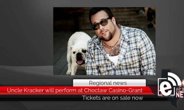 Uncle Kracker will perform at Choctaw Casino-Grant