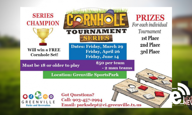 Parks and recreation hosts cornhole tournament || Starts March 29