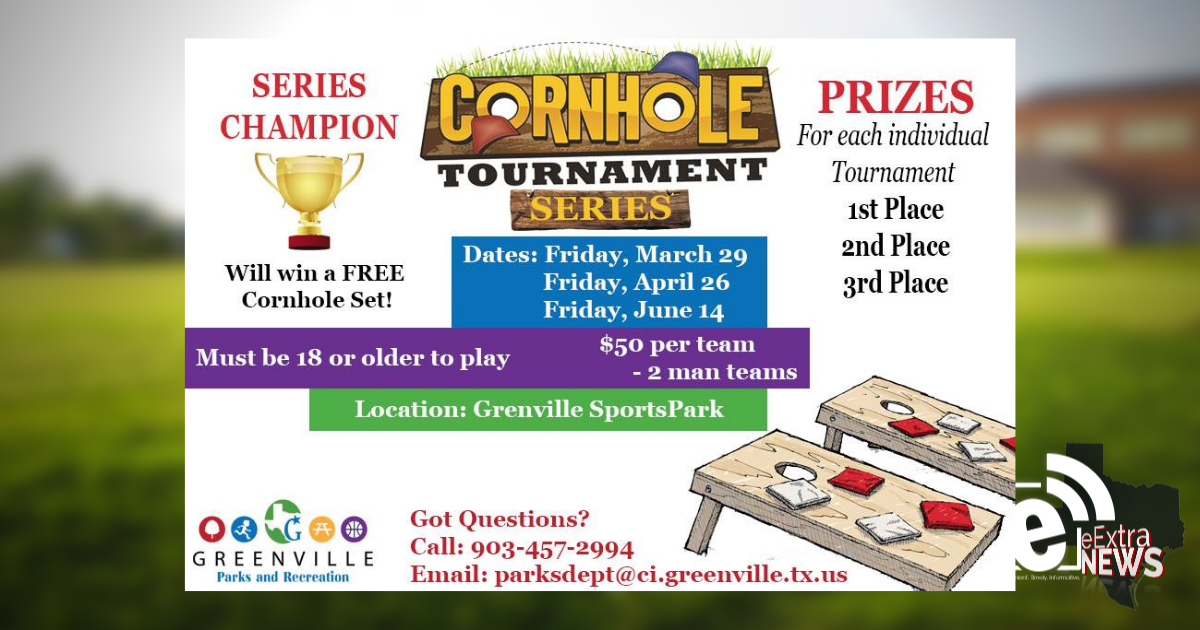 Parks and recreation hosts cornhole tournament    Starts March 29