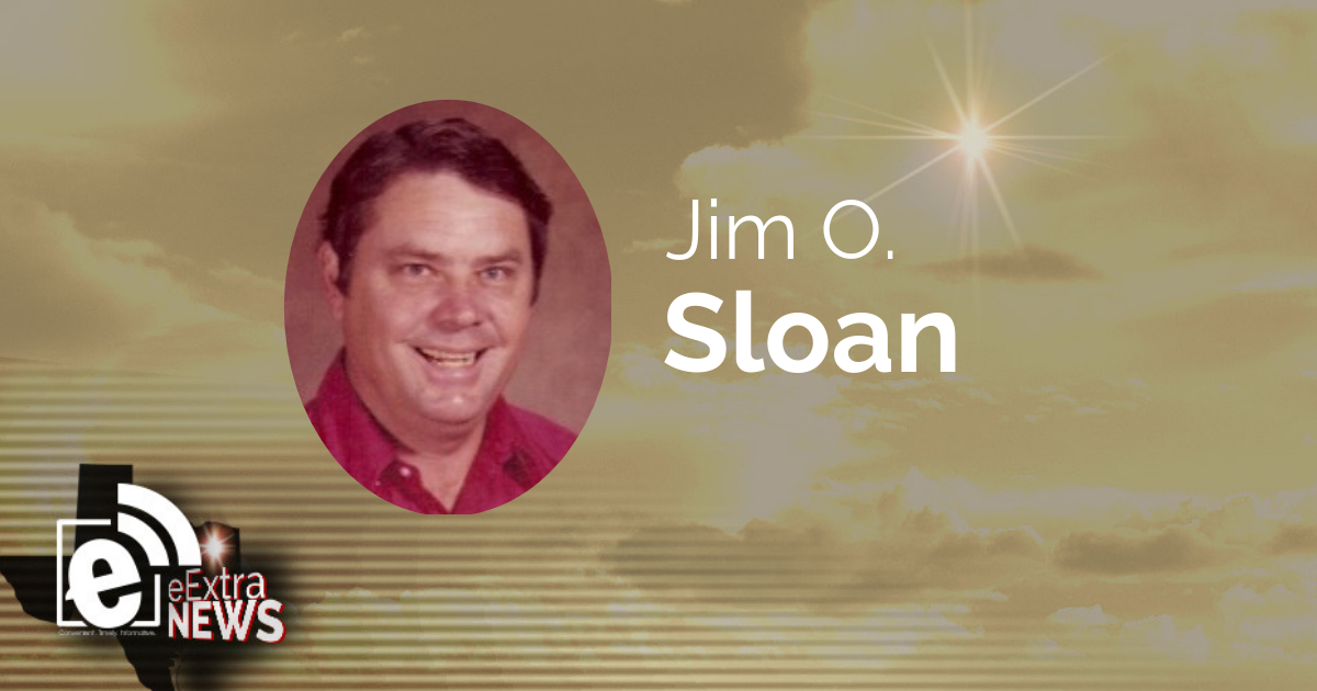 Jim O. Sloan of Talco, Texas