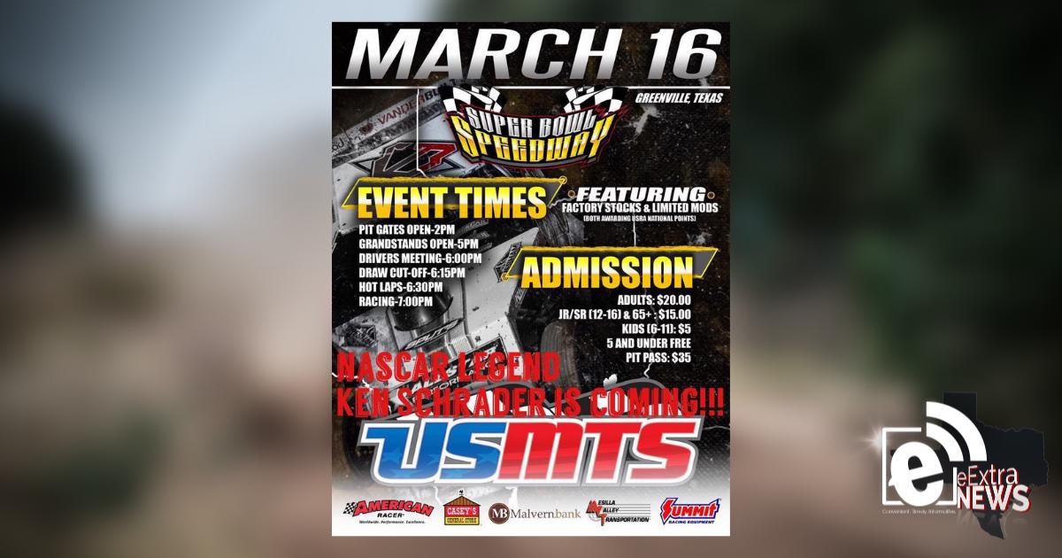 NASCAR legend Ken Schrader to be at Super Bowl Speedway this weekend