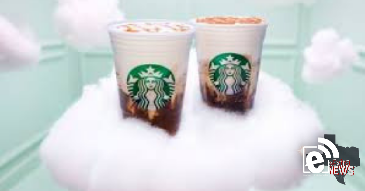 New drink is available at Starbucks    Ariana Grande is the face of the cloud macchiato