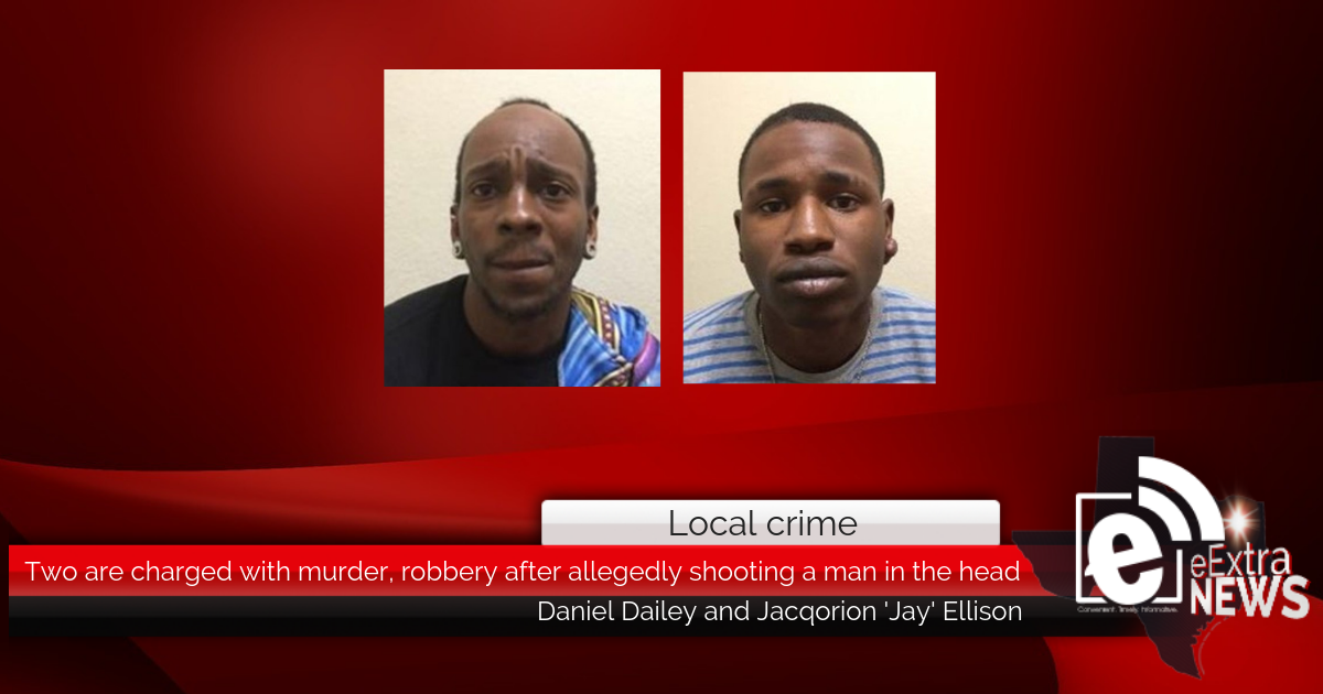 Two are charged with murder, robbery after allegedly shooting a man