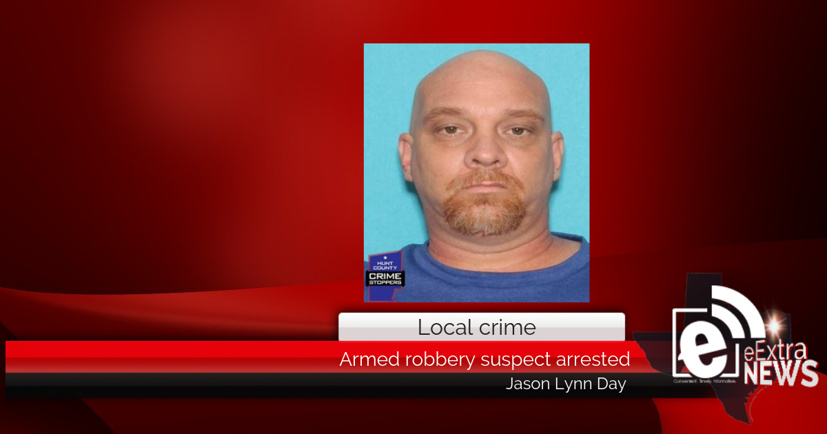 Robbery suspect detained || Jason Lynn Day