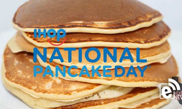 Free pancakes at IHOP on Tuesday    National Pancake Day