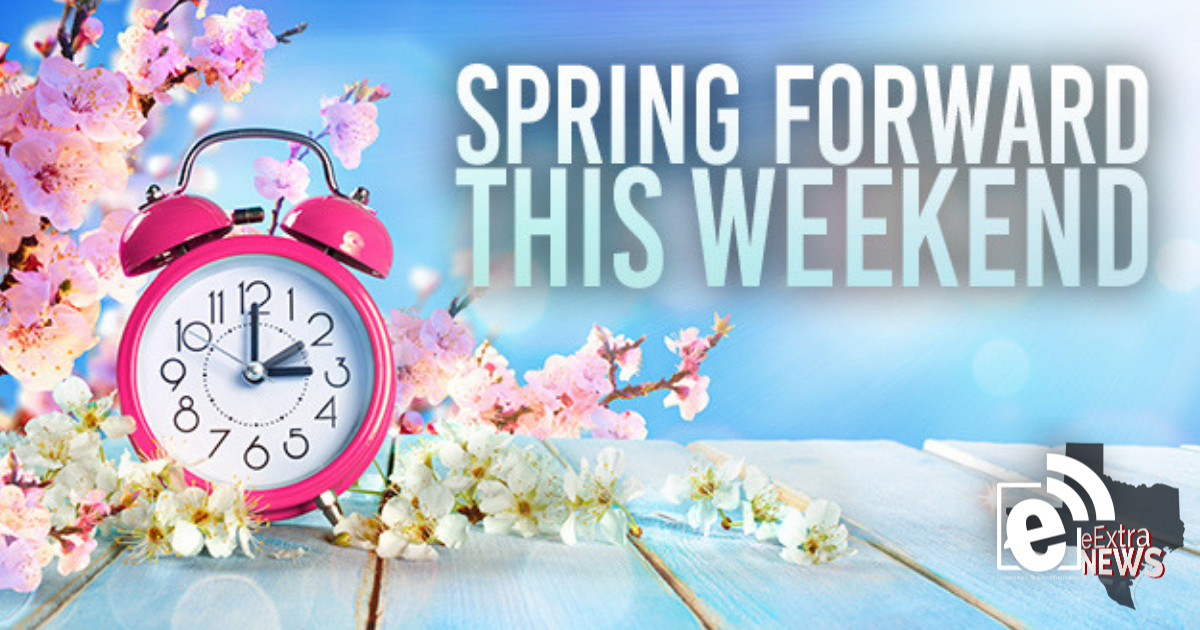 Spring forward with Daylight Saving Time tonight at 2 a.m.