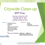Citywide clean-up day set for April 27